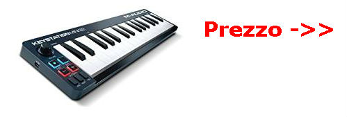 m-audio keystation mini prezzo